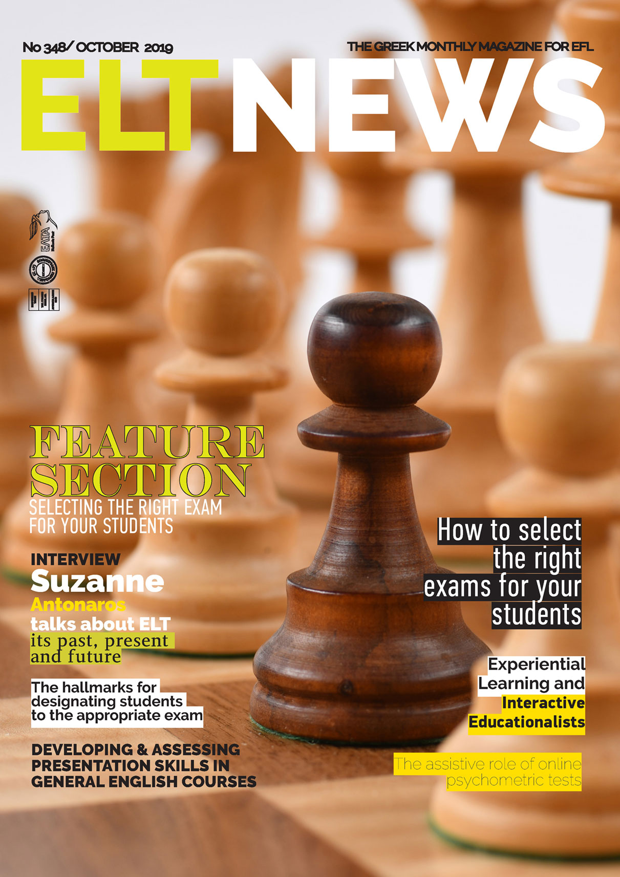 Eltnews October 2019 Cover