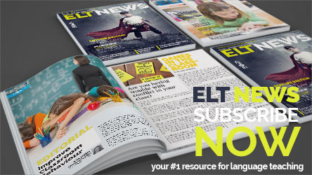 Subscribe to ELT NEWS for 1.70 euros per month and get access to the most innovative teaching resource material in Greece.
