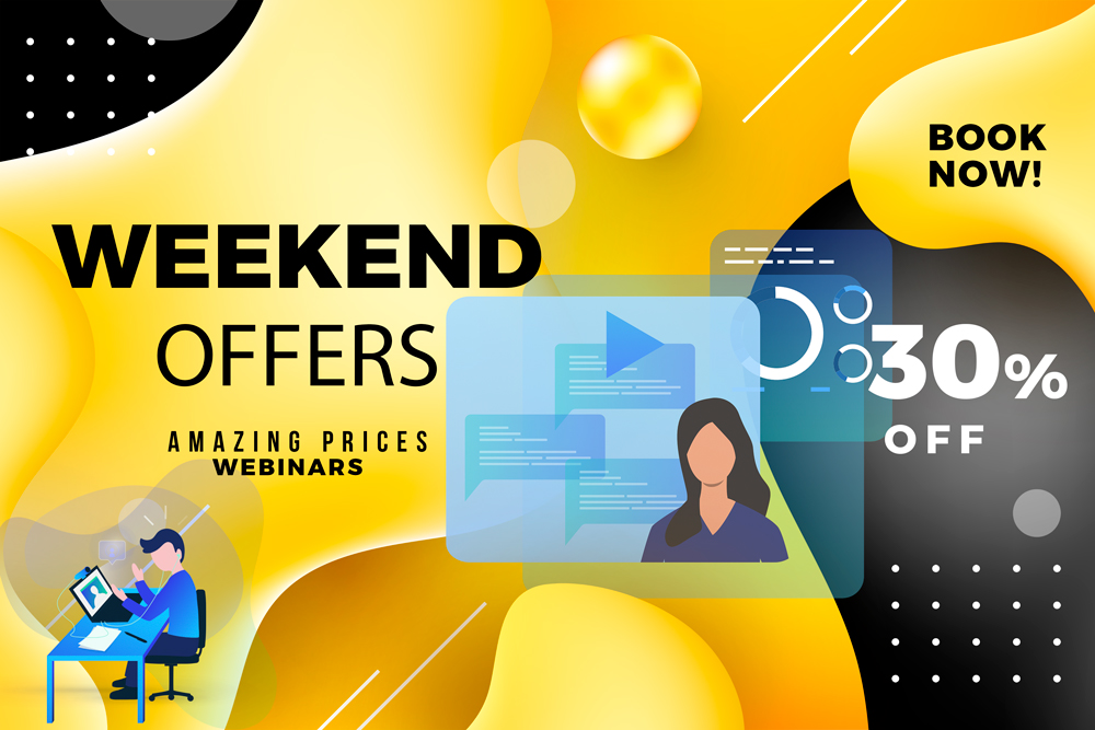 webinar weekend offers